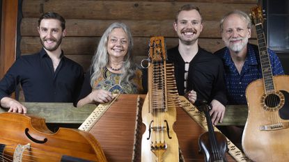 "Wherligig will perform a live concert with instruments from ""The Art of the Musical Instrument,"" on display now in the Tevis Gallery of the Carroll Arts Center."