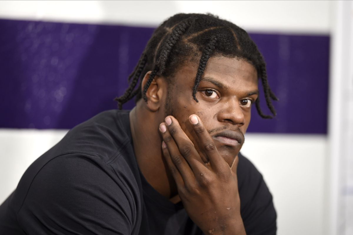 Ravens Qb Lamar Jackson Misses Practice With Illness Bengals Wr A J Green Probably Won T Play Sunday Baltimore Sun