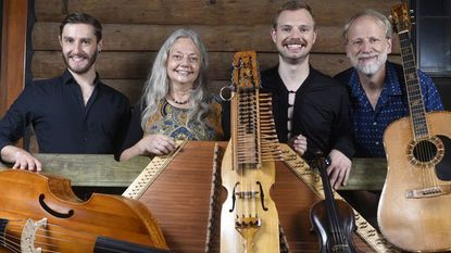 "Wherligig, an ensemble of traditional Celtic and Nordic string and wind instruments, will play the Carroll Arts Center on Saturday, June 29 at 8 p.m. In a unique twist, they will be using instruments from our exhibit, ""Art of the Musical Instrument."""