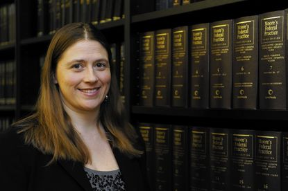 Attorney Heidi R. Burakiewicz is representing some 2,000 federal workers suing the government over late payment of wages during the shutdown in October.