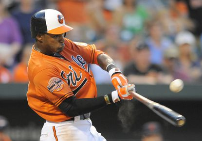 """""""I'll get to wear USA across my chest and play some important games for my country,"""" Adam Jones said of representing the U.S. in the World Baseball Classic. """"That's cool. I'm in."""""""