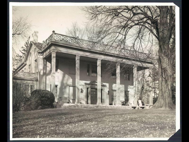 Elegy for Pomona, the Hutzler family's Pikesville home