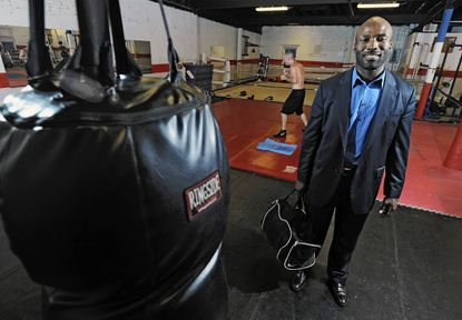 Baltimore boxer fights for father-son time