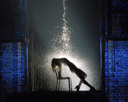 """Emily Padgett as Alex in """"Flashdance the Musical,"""" now playing at the Hippodrome."""