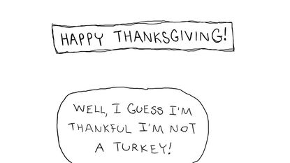 Much to be thankful for
