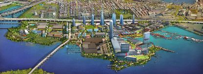 At 'public' hearing on Port Covington TIF, officials didn't hear much from the public