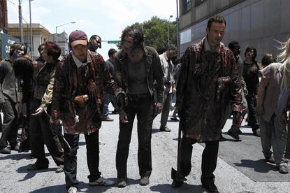 """All of """"The Walking Dead"""" episodes airing in a row? Yes, please."""