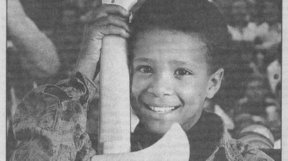 """In 1992, Floyd Roger Myers, 9, played Marlon Jackson as a child in the ABC mini-series """"The Jacksons: An American Dream."""" He also had a part on """"The Fresh Prince of Belair"""" and """"Young Americans."""""""