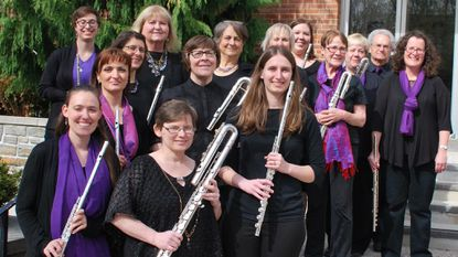 Members of the Baltimore Flute Choir are getting ready to perform next month at the National Flute Association convention in Orlando, Fla.