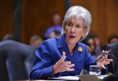 Former U.S. Health and Human Services Secretary Kathleen Sebelius