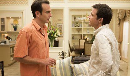 "Will Arnett, left, and Jason Bateman in the fourth season of ""Arrested Development."""