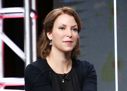 """Raney Aronson-Rath, executive producer of """"Frontline"""" on PBS. (Credit: Rahoul Ghose/PBS.)"""
