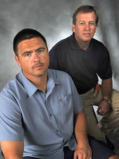 For four years after their 2004 meeting, Phil Bloete, left, and Ron Ryba formed a bond based on their belief that they were father and son before a DNA test proved otherwise.