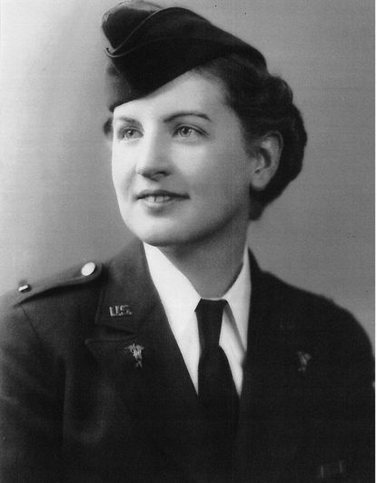 "Rebecca J. ""Jane"" Frank was a registered nurse who during World War II served aboard hospital trains."