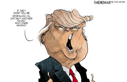 Trump and Greenland