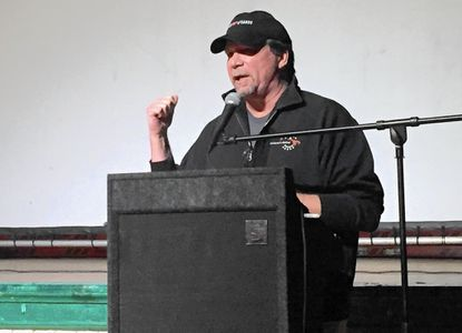 Jack Gerbes, director of the Maryland Film Office, was the guest speaker Friday during the second night of the eighth annual Town of Bel Air Film Festival.
