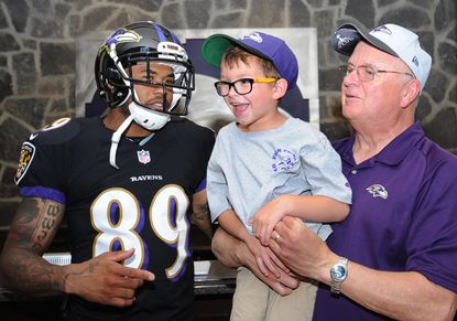 Ravens welcome longtime season ticket holders for meet-and-greet at Castle