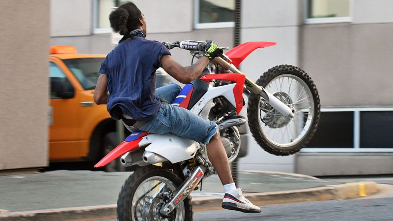 The Baltimore police department's seasonal dirt bike violators task force will continue to target areas known for street riding.