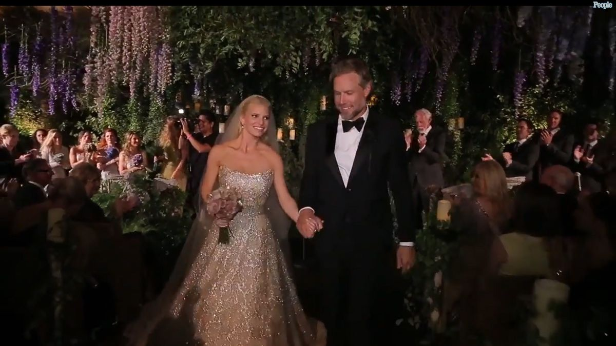 Jessica Simpson S Wedding Video Shows Off Elegant Fun Affair Baltimore Sun