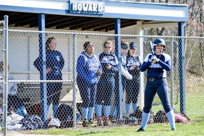 Howard's softball team shut out Chapelgate after losing to Bishop McNamara in its own tournament on Saturday.