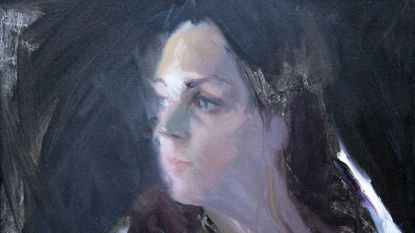 """""""Emily"""" by Abigail McBride is part of the exhibit at Columbia Art Center."""