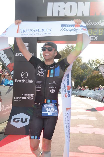Tim Smith, Christina Lauer win Ironman Maryland