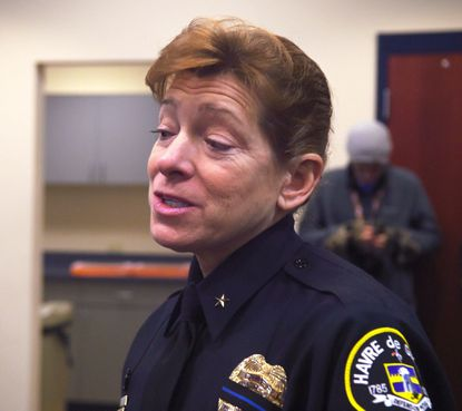 Havre de Grace Police Chief Teresa Walter explains the position her agency has taken on using body cameras.