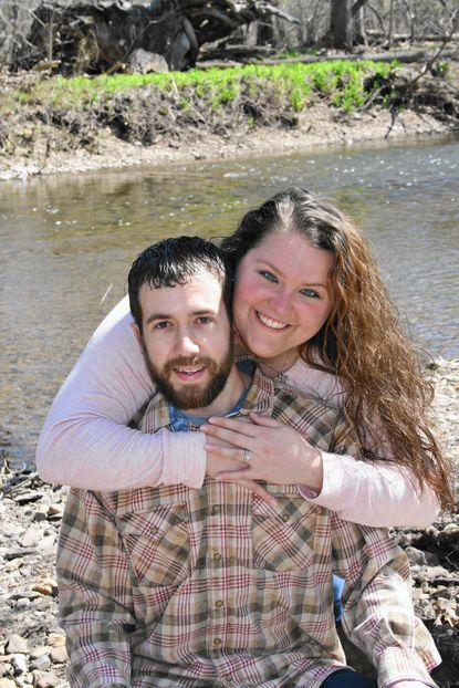 Kayla Knable and Brandon Stambaugh are engaged to be married - Original Credit: Submitted Photo