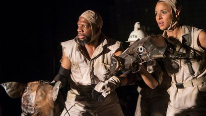 Orwell's 'Animal Farm' stings at Center Stage