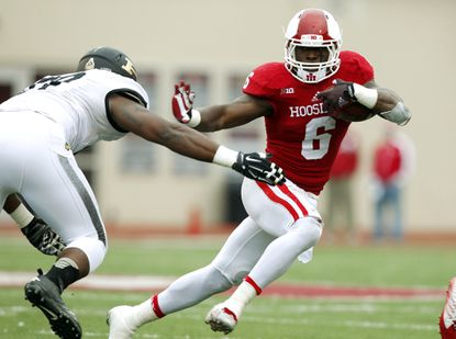 Despite a toe injury, Indiana's Tevin Coleman didn't miss a game this past season and rushed for a school-record 2,036 yards.