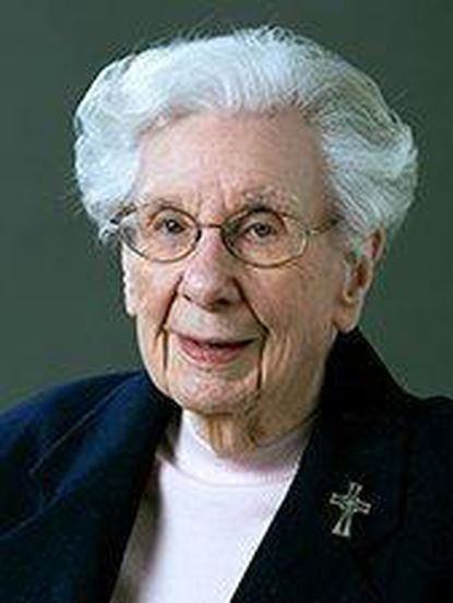 Sister Mary Christopher Bourke, former principal of old Mount St. Agnes High School