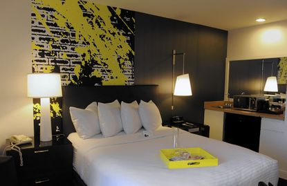 The rooms at the Brookshire Suites Hotel has been remodeled.