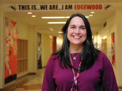After nine years leading Edgewood High School, Larissa Santos is no longer the school's principal. She resigned July 15, according to Harford County Public Schools.