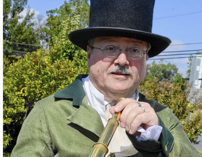 A former Civil War reenactor, Catonsville resident Monty Phair now provides a citizen's perspective on the Batltle of Baltimore and the War of 1812