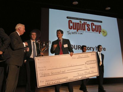 Social Growth Technologies Inc. won the fifth annual Cupid's Cup business competition at the University of Maryland College Park in 2010.