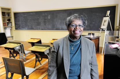 The Rev. Gertie T. Williams, 76 and a retired pastor, will give the opening prayer at a Martin Luther King Jr. Day celebration at the Ellicott City Colored School on Jan. 21.