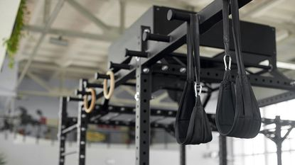 Be sure to sanitize your ab straps after use, as with any exercise equipment. While some may be machine-washable, warm water and soap will quickly clean the straps.