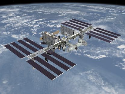 The International Space Station is passing over Maryland this week.