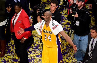 Kobe's final performance was complex and intriguing -- just like Kobe's character