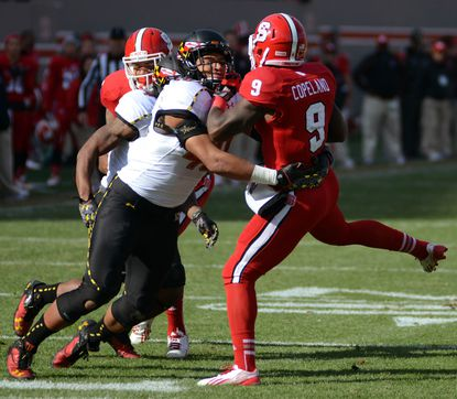Approaching his final season, Terps outside linebacker Matt Robinson is finally healthy