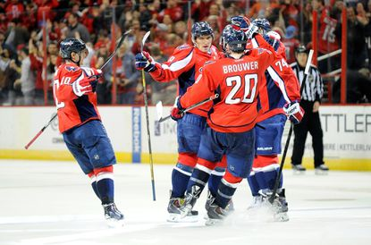 Ovechkin's overtime goal beats Red Wings, 6-5