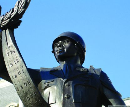 Best Monument: The Black Soldiers Statue at War Memorial Plaza