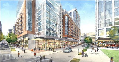 Officials announced Monday that the firm, Greenberg Gibbons will join Caves Valley in developing the Towson Row project.