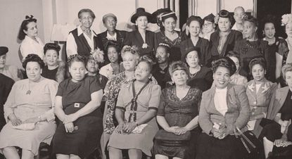 """A photograph of civil rights organizers featured in the movie """"The Rape of Recy Taylor."""" Credit: Tamiment Library / Robert F. Wagner Labor Archives / New York University"""