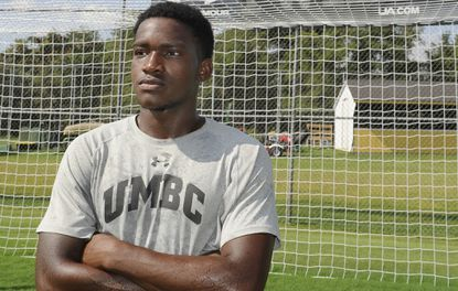 Former Towson star Kay Banjo has been UMBC's top offensive threat through six games.