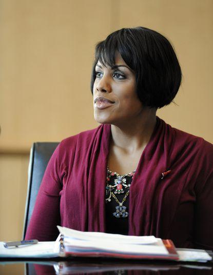 Stephanie Rawlings Blake, 44, mayor of Baltimore