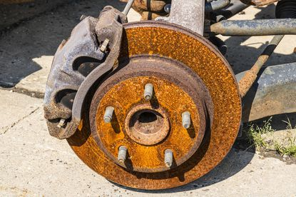 Motormouth: Winter salt can do a job on your car's rotors