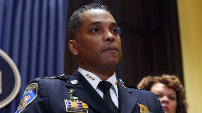 Baltimore Police Commissioner Darryl De Sousa said Tuesday he is considering removing his homicide unit from the investigation into Det. Sean Suiter's death.