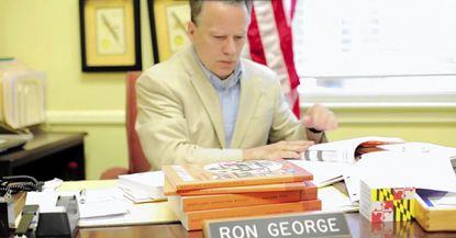 Campaign ad for Ron George, Republican candidate for governor in Maryland
