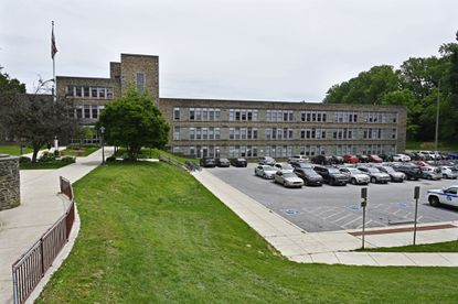 File picture of the buildings at Towson High School.